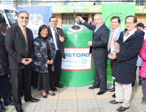 Anunciaron programa de reciclaje de vidrios para la ciudad de Osorno
